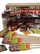Party Display - 41 Display Fireworks. Perfect for Bonfire Night Party, Fireworks Night, Guy Fawkes, 5th November