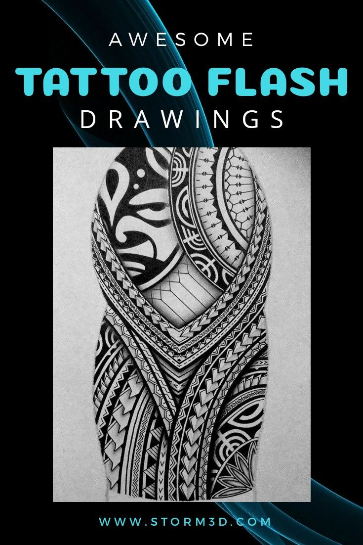 Mixed Tribal Tattoo Designs High Resolution Drawings For Sale Polynesian Tattoo Meanings Tribal Tattoo Designs Polynesian Tattoo