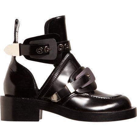 Balenciaga Buckle Strap Ankle Boot: Balenciaga Buckle, Balenciaga Boots, Ankle Boots, Strap Ankle, Shoes Boots Ankle