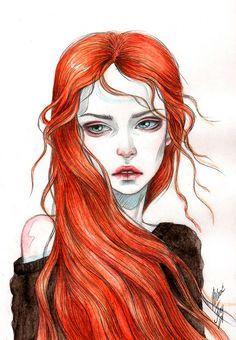 Black Fury Самара, Россия. Сообщество иллюстраторов | Иллюстрация Рыжая.