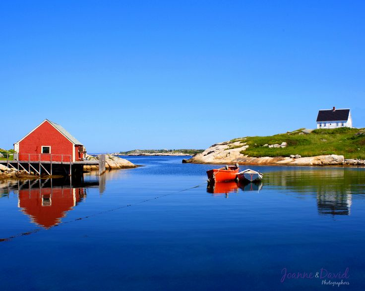 A little bit of summer to warm up your winter day. This was a photo that I took a few years ago at Peggy's Cove. It was also the month of July in our 2015 Nova Scotia Landscape Calendar. View more of my Nova Scotia Landscapes on our website - http://bit.ly/1vvqiv3 - David