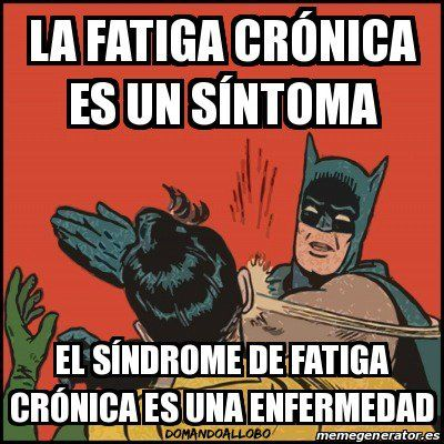 ¿Distingues fatiga crónica y Síndrome de Fatiga Crónica? http://domandoallobo.blogspot.com.es/2015/06/80-fatiga-cronica-y-sindrome-de-fatiga.html
