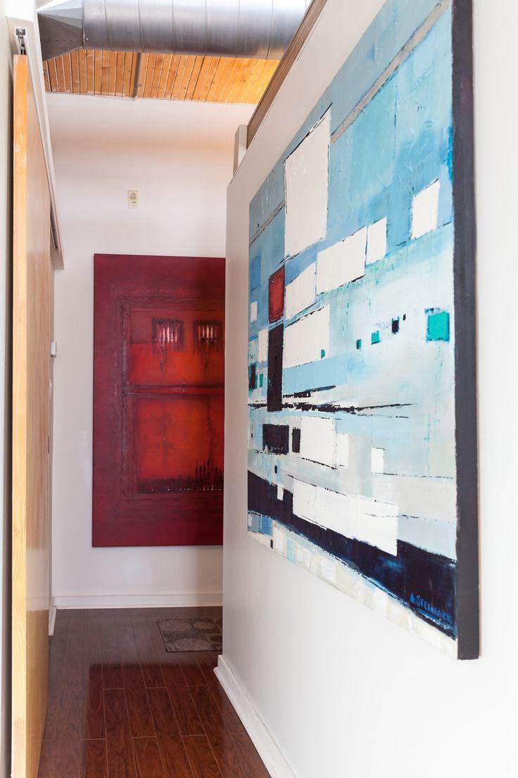 House Tour: A Colorful, Creative Toronto Loft | Apartment Therapy