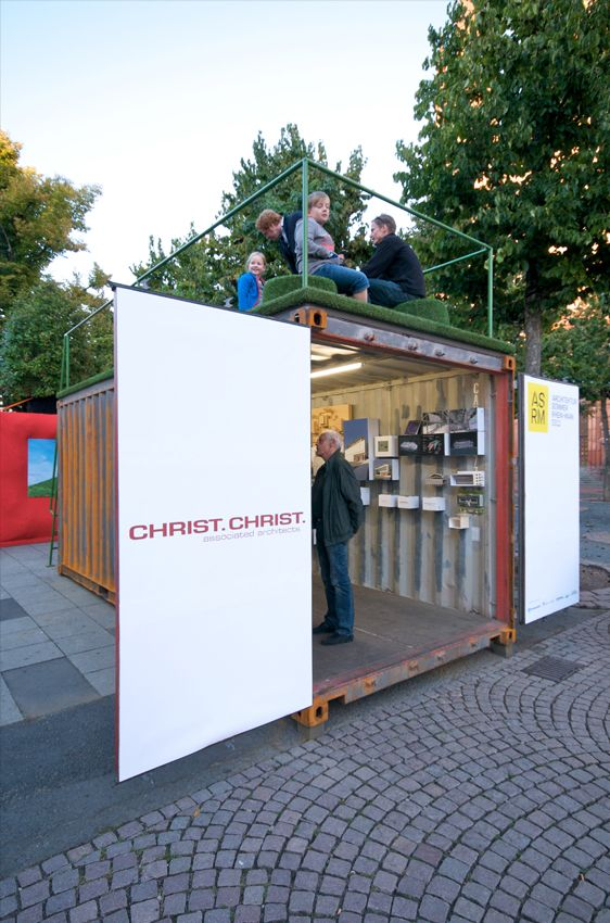 Project: Architecture container ASRM 2011 - CHRIST.CHRIST. associated architects