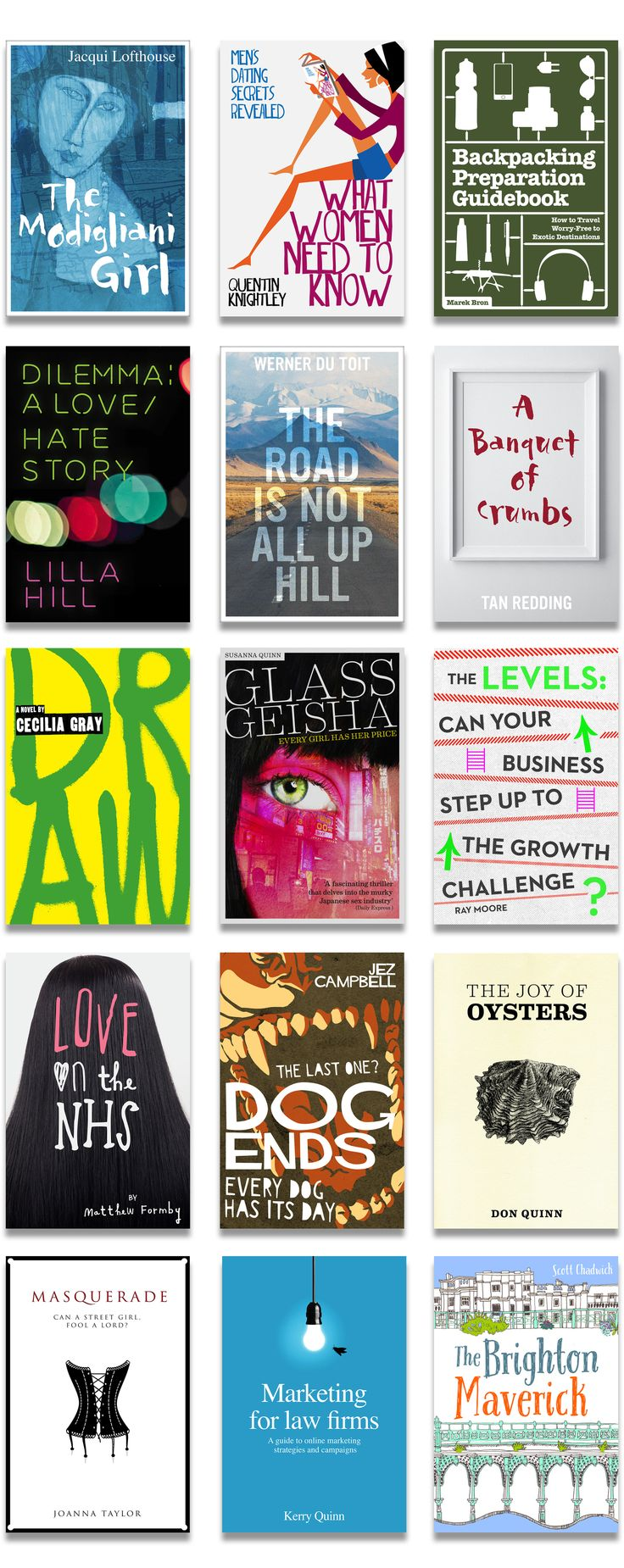 Non Fiction Book Cover Design ~ Best book covers—pre designed—nonfiction images on