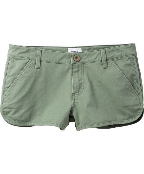 Town Down Low-Rise Stretch Chino Short | RVCA