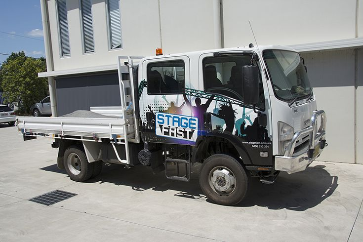 Stage Fast Truck Wrap