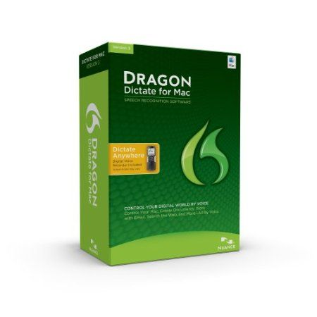 With Dragon Dictate for Mac 3 speech recognition software, you can use your voice to create and edit text or interact with your favorite Mac applications. Far more than just speech-to-text, Dragon Dictate lets you create and edit documents, manage email, surf the Web, update social networks, and more – quickly, easily and accurately, all by voice  Price: $259.99