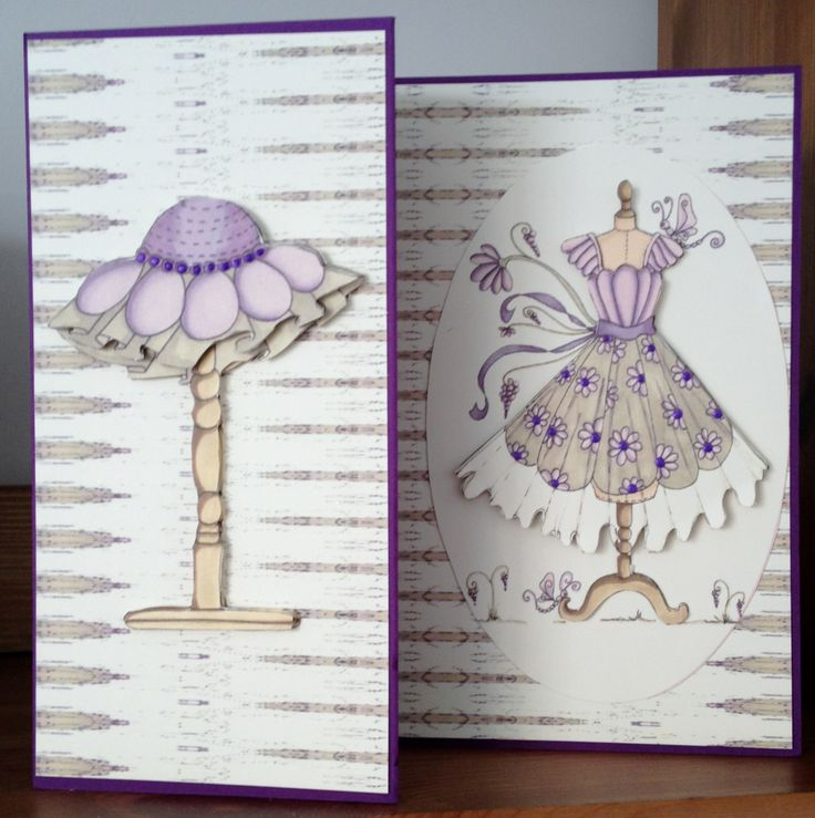 8x8 card made from the Fabulous Fashion cd