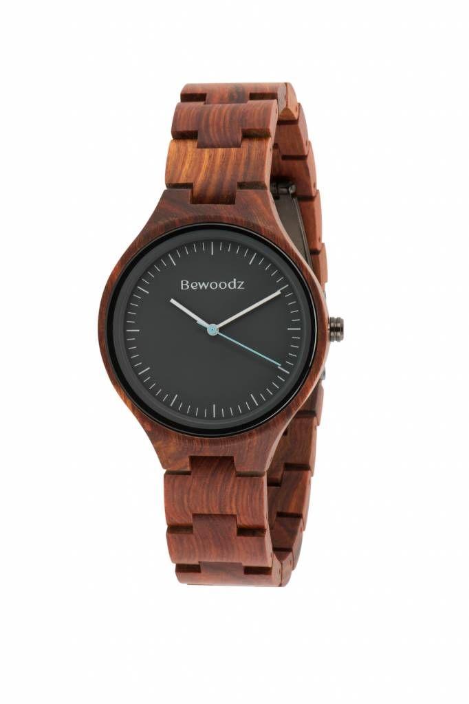 Holzuhr Herren - Holzuhr für Männer - Armbanduhr aus Holz von Bewoodz #Holzuhr