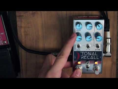 NPD: Chase Bliss Tonal Recall - Heres a few sounds Ive pulled out of it so far! (thoughts in the comments too)