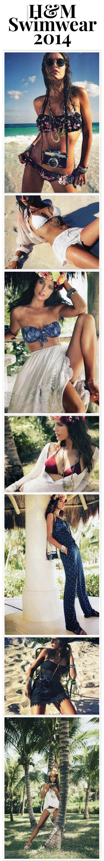 H&M Swimwear 2014 | The House of Beccaria~