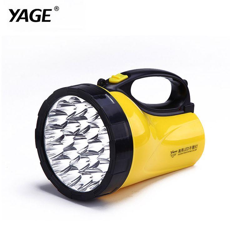 buy yage portable light led spotlights camping lantern searchlight portable spotlight handheld #hunting #spotlights