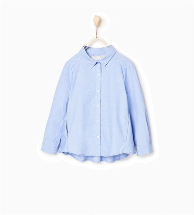 Chemise à poches-CHEMISES-Fille-Enfants   4-14 ans-ENFANTS   ZARA France