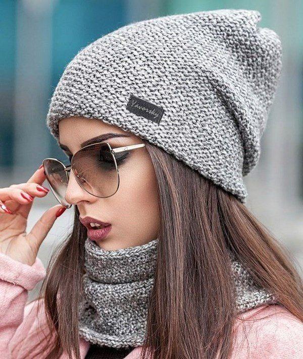 e8addd1162e7 100 модных новинок: Женские шапки Осень - Зима 2018 - 2019 фото ...