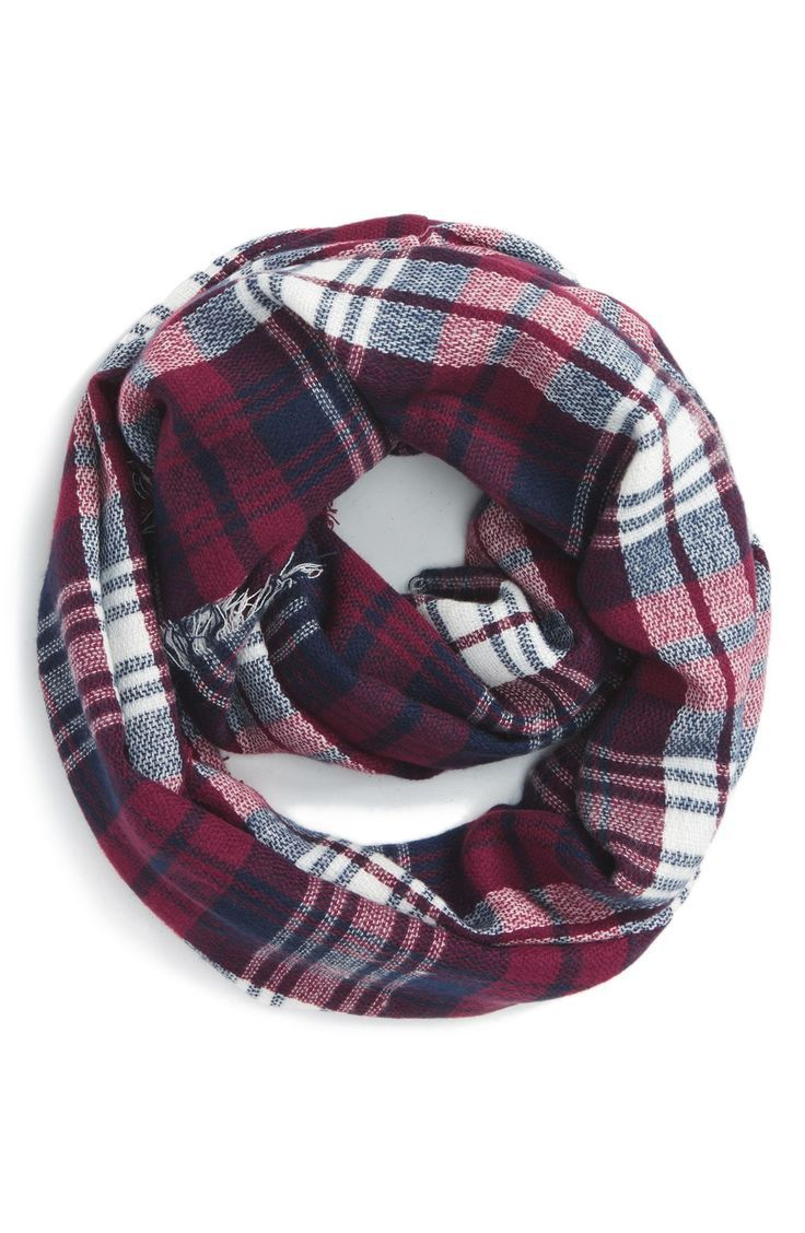 Adding this classic plaid scarf in rich hues to the Christmas list.