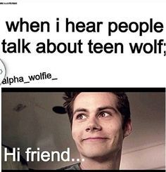 haha very true because i think im the only 32 yr. old that watches this show religiously and doesnt know anybody that watches it to talk to<---- I don't care if you're 32; if you watch teen wolf you're still one of my favorite people. xD