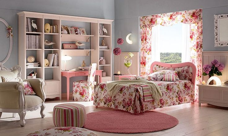 Dormitorios color rosa para ni as ideas para decorar for Sofa cama para habitacion juvenil