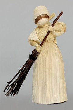 Corn Husk Craft Ideas | Corn husk doll | Craft/Gift ideas