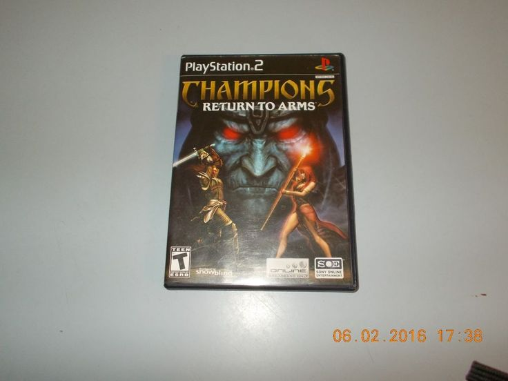 """Champions: Return to Arms """"Good Condition"""" (PlayStation 2) Complete PS2"""