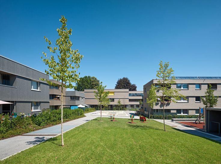 Architekten Hermann Kaufmann ZT GmbH - Projects - Heimat Österreich - Liefering Liefering - Salzburg