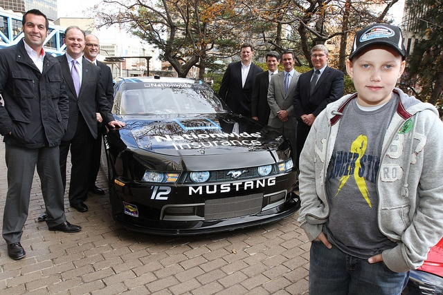 A NASCAR superstar's family is celebrating the birth of a ...