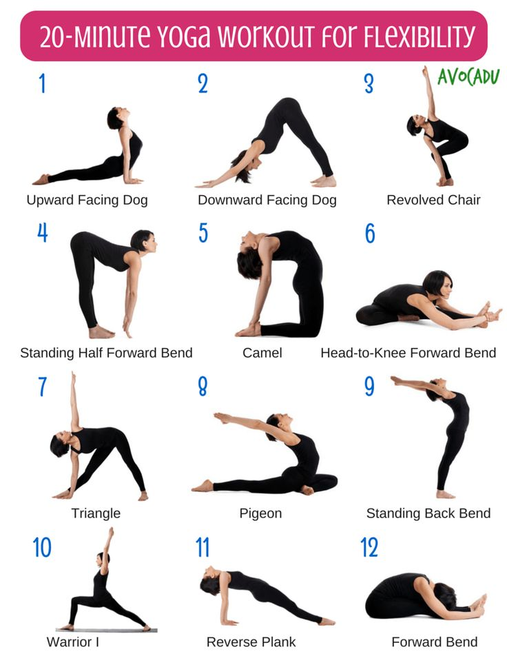 20 Minute Beginner Yoga Workout For Flexibility - Avocadu