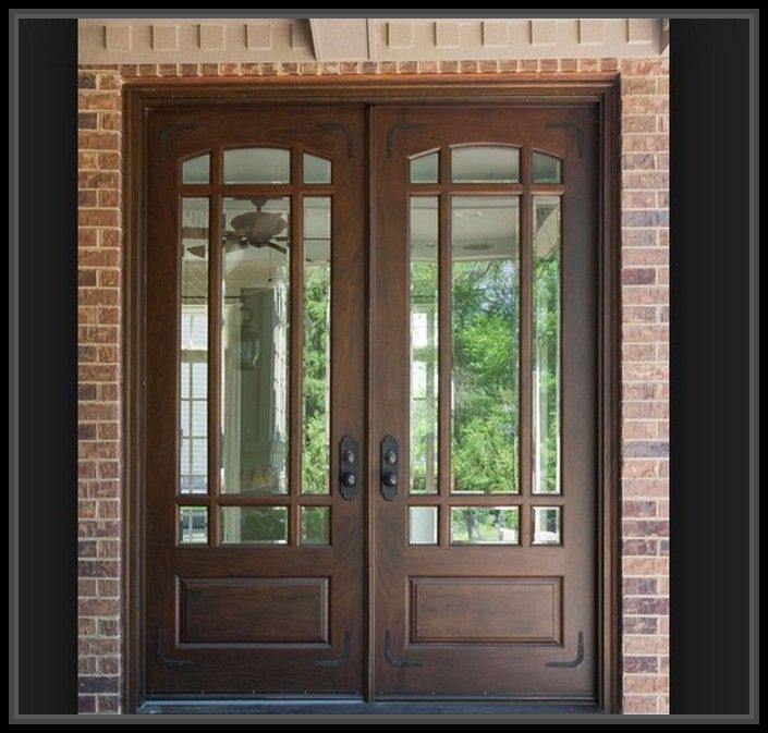 Astounding Door Window Frame Design More Design