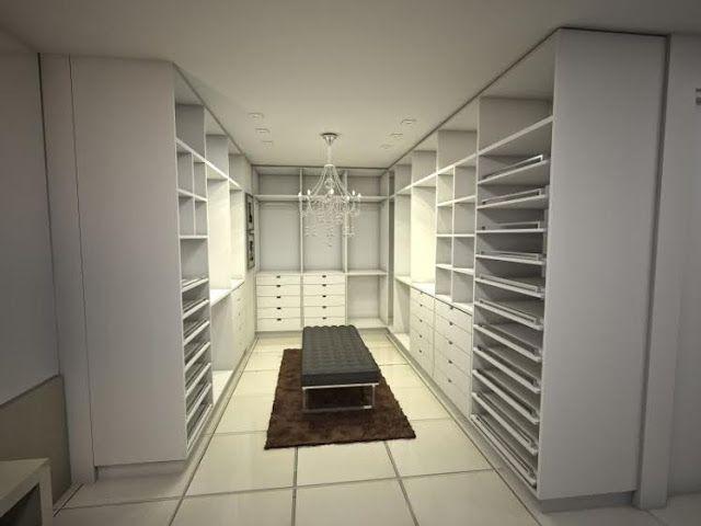 Projeto do Meu Closet Sob Medida! E Inspirações!