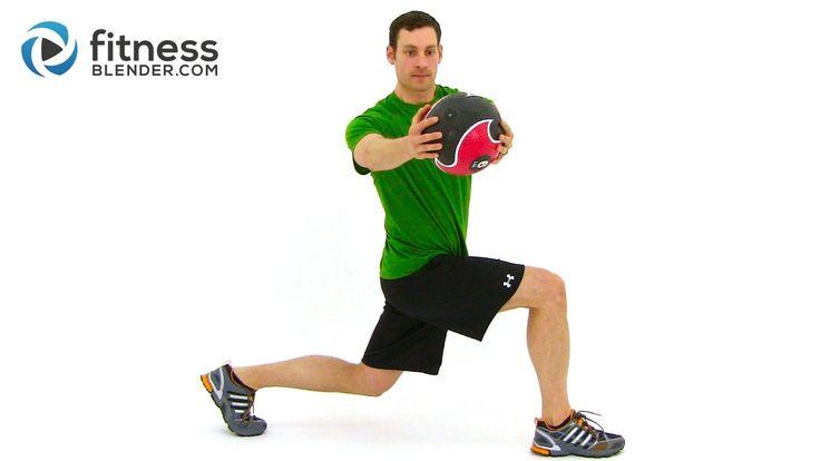 Total Body Medicine Ball Workout - Medicine Ball Exercises
