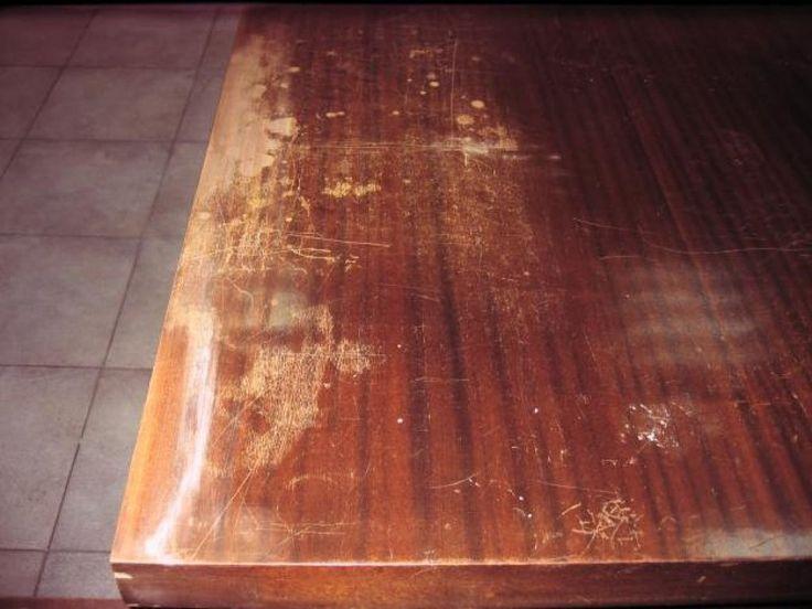 Trucos para eliminar los arañazos de la madera