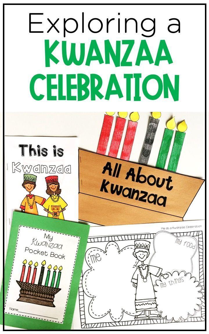 Kwanzaa Activities Graphic Organizers Mini Book And Craft Kwanzaa Activities Mini Books Kwanzaa