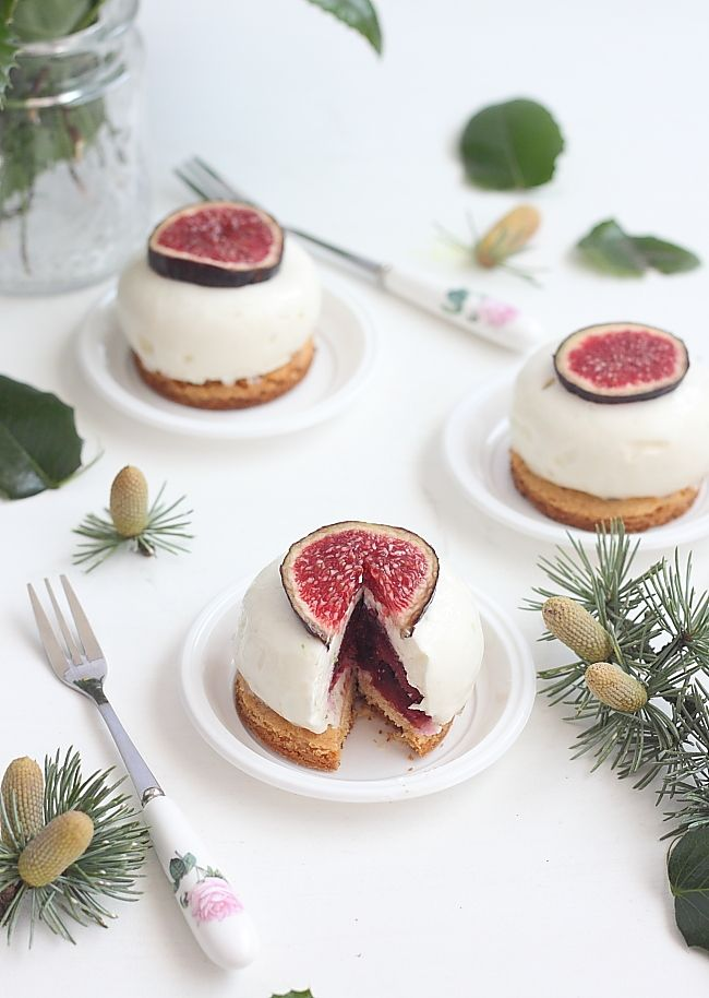 Cheesecake figues & quetsches