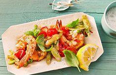 Garnelenpfanne (für den Grill), ein schönes Rezept aus der Kategorie Gemüse. Bewertungen: 87. Durchschnitt: Ø 4,4.