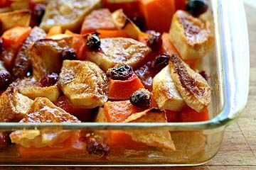 This is wonderful and great for a dinner party.: Butternut Squash, Squashappl, Side Dishes, Apples Cranberries, Squash Apples, Bake, Cranberries Baking, Baking Recipes, Squashes