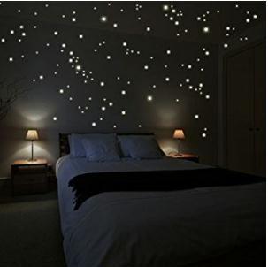 Weihnachtsdeko selber basteln Gibt`s HIER: http://amzn.to/2gbv78O Wandkings 250 Leuchtpunkte für Sternenhimmel, extra starke Leuchtkraft,  Wandsticker Leuchtaufkleber,  Fluoreszierend und im Dunkeln leuchtend