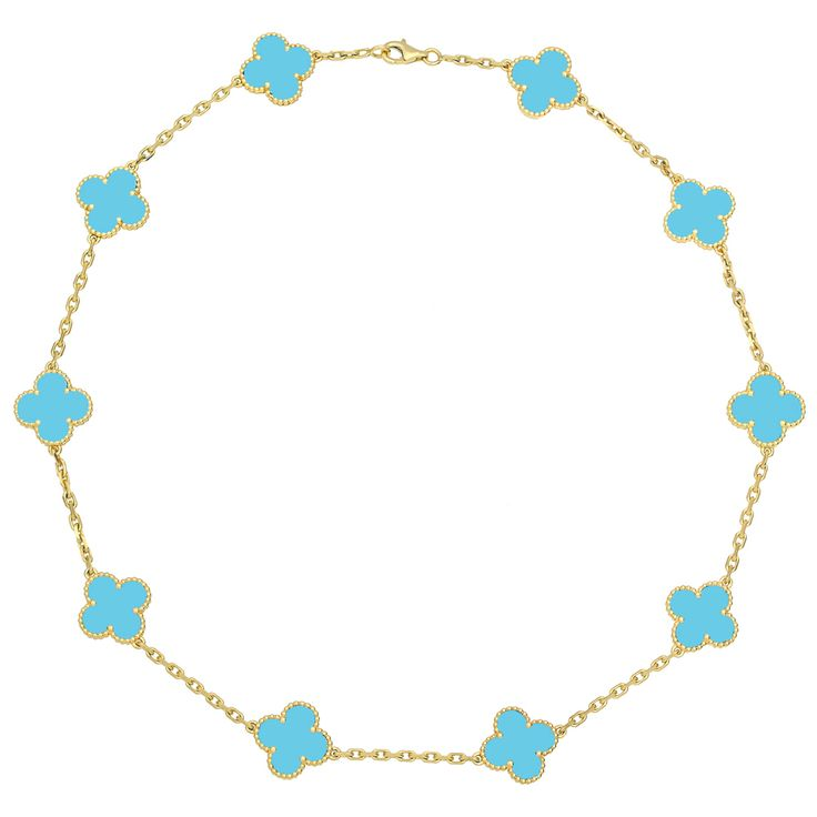 Van Cleef & Arpels Vintage Alhambra Necklace. I need to stop looking at this stuff.
