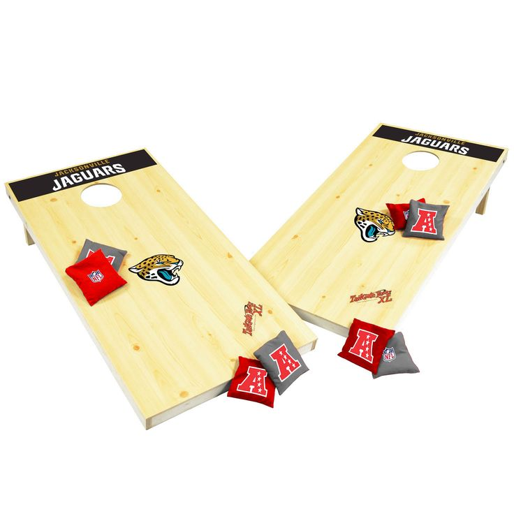 Wild Sports Jacksonville Jaguars XL Cornhole Tailgate Toss - $143.99