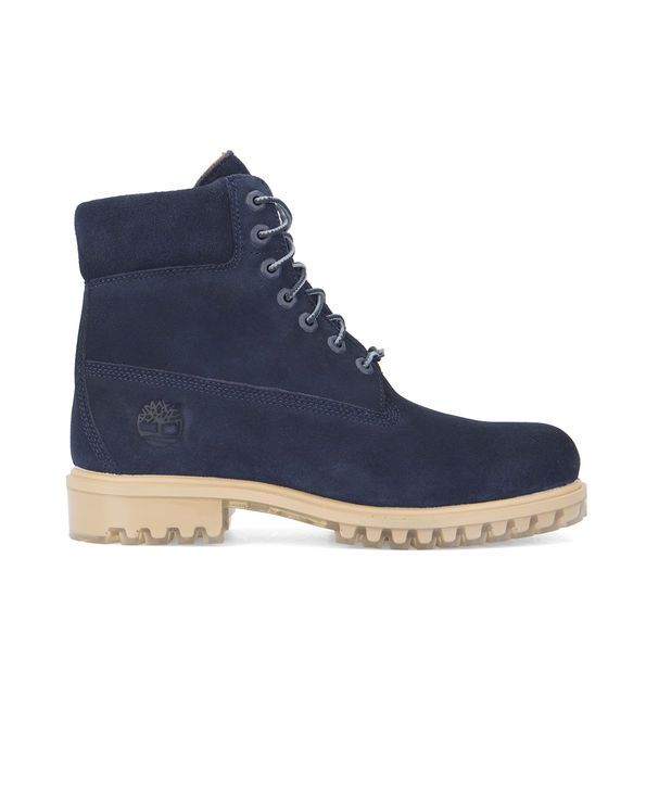 Boots 6 Inch Suede Bleu TIMBERLAND