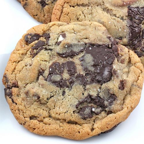 Jacques Torres Chocolate Chip Cookies (with fleur de sel!) ~ 1 1/4 ...