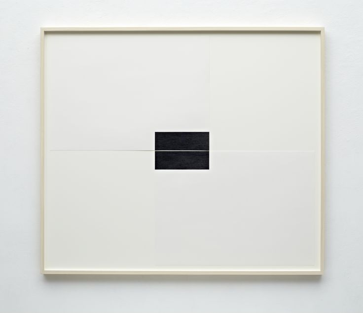 FRANK GERRITZ - Two Center Connection III, 2013, Pencil on Paper, 2 Part, Each 42 x 58.8 cm