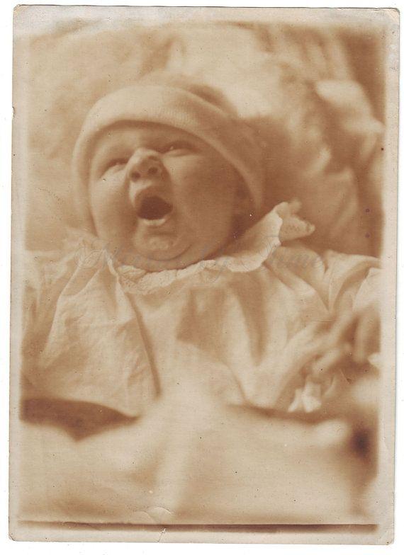 Vintage Photo  Sweet dream baby  Cute baby photo  Baby