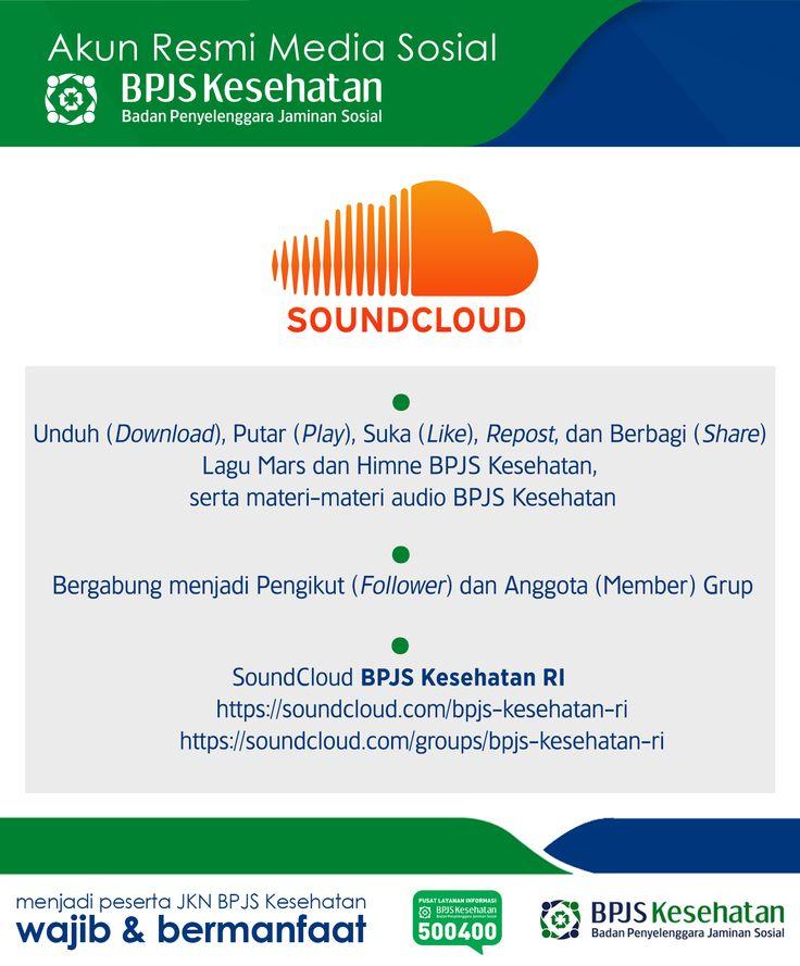 Media Sosial BPJS Kesehatan, SoundCloud