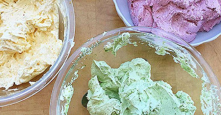 Zcela přírodní barviva pro dortové krémy