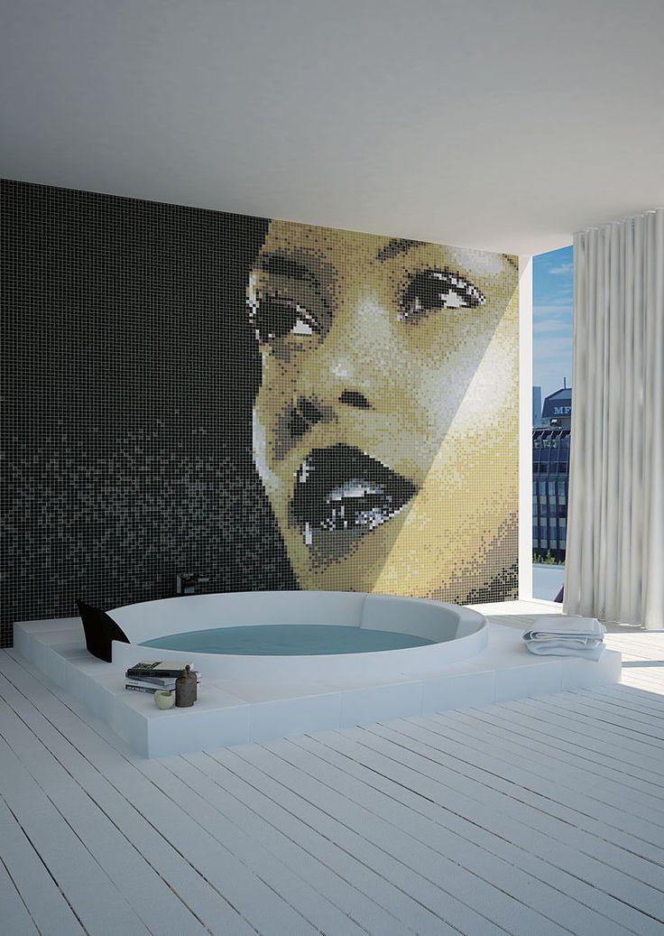Mosaico a tutta parete