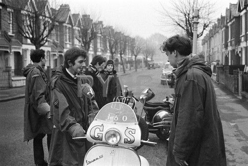 Mods and Scooters.