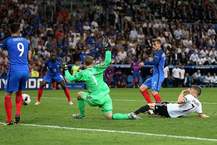Antoine Griezmann second goal (2) #EURO2016