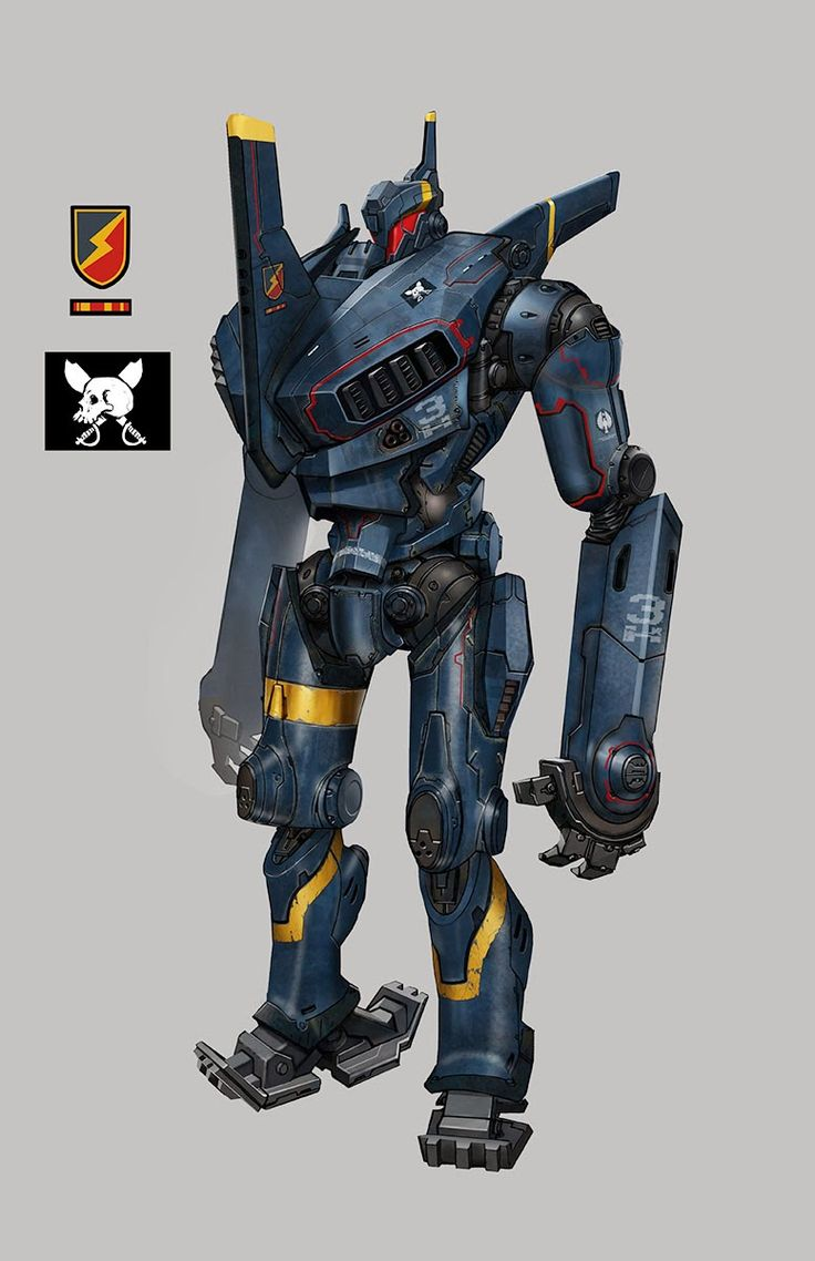 Jaeger - Pacific Rim - Francisco Ruiz