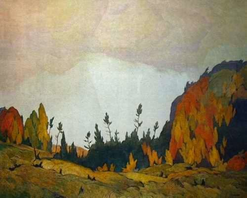 Alfred Joseph Casson. Canadian (1898 - 1992) - The Group of Seven. - Northland