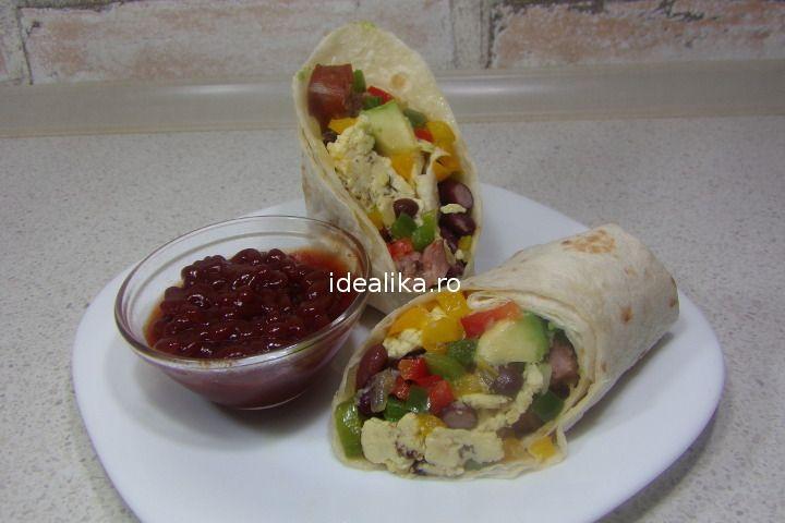 Burrito pentru micul dejun este, poate, cea mai inspirata alegere, fie ca il servim imediat, fie ca il pastram la congelator pentru diminetile grabite